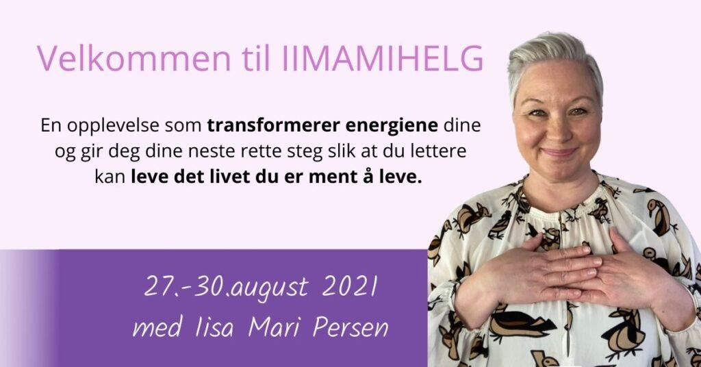 transformasjon helg med Iisa